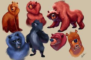 Bear-Designs by TehChan