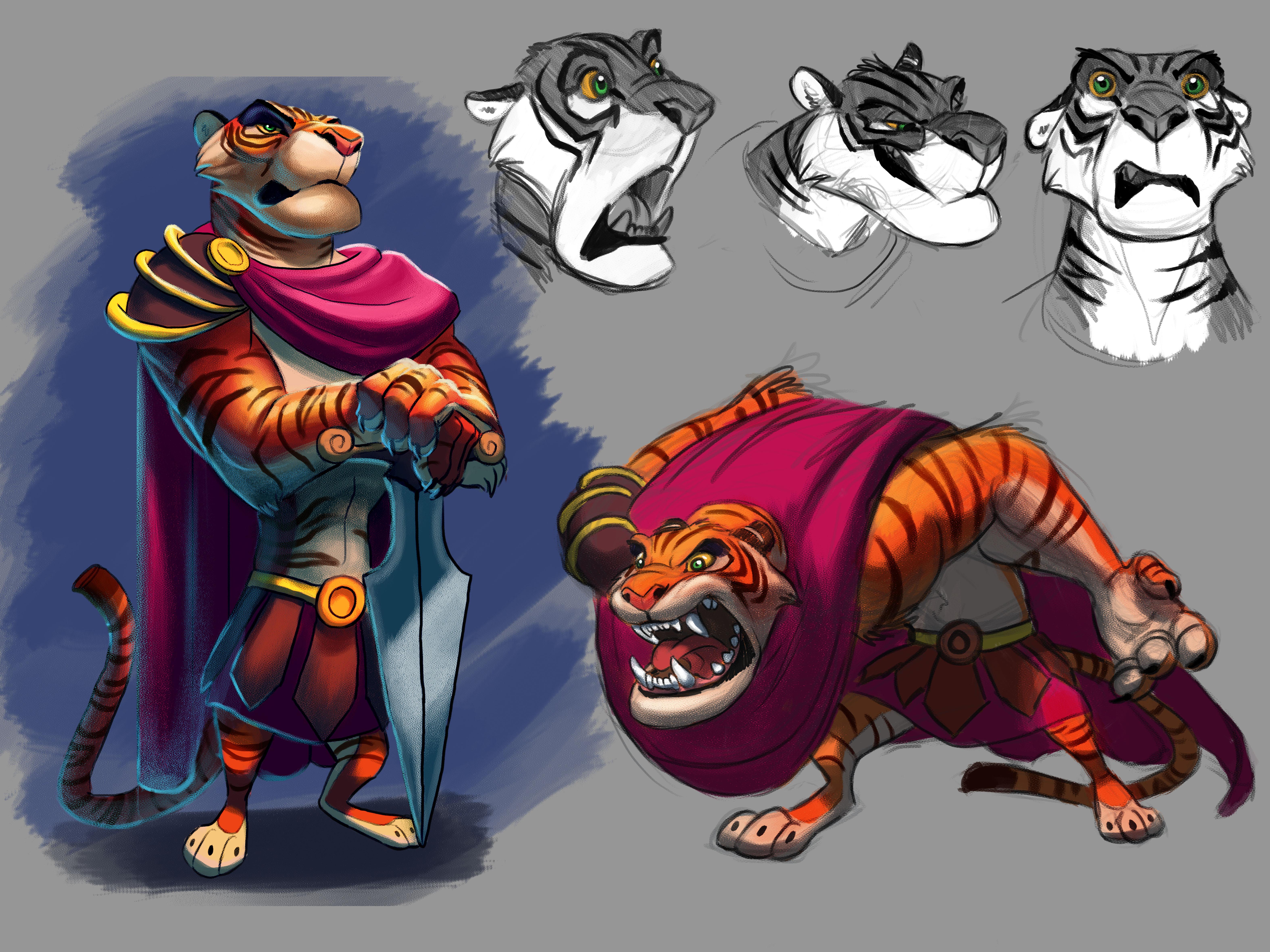 Character Design Challenge Zelda : Gladiator character design challenge by tehchan on deviantart