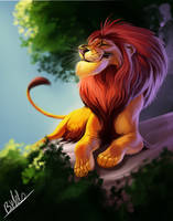 Lion by TehChan