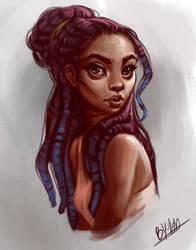 Female Study by TehChan