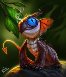 Little Dragon by TehChan