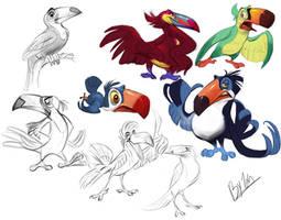Toucan Designs by TehChan