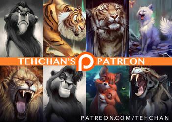 Tehchan's Patreon by TehChan