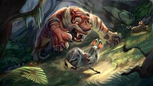 The Hunt by TehChan