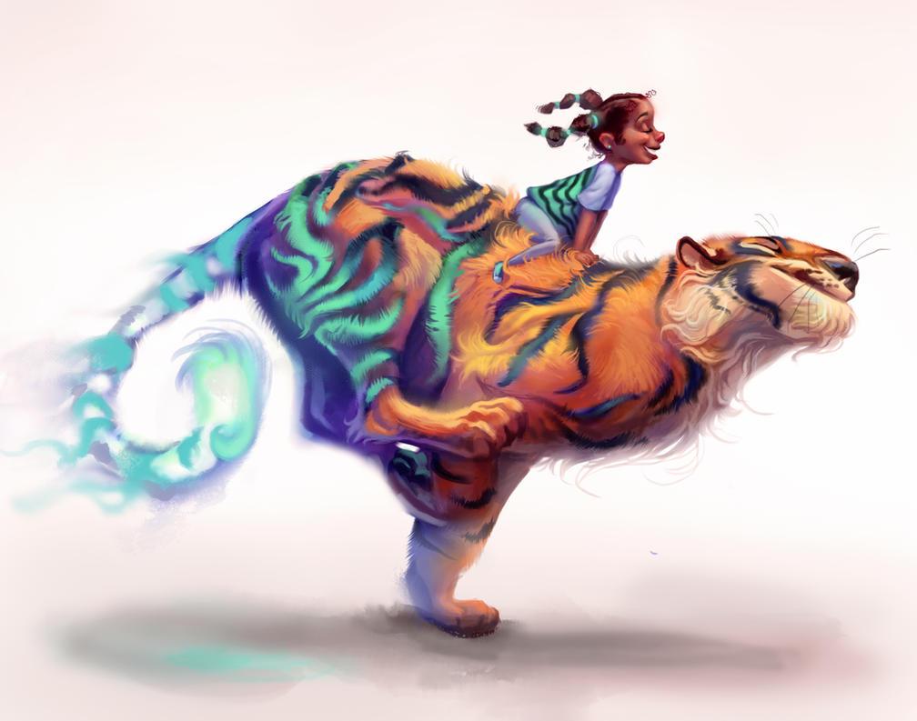 Spirit Animal by TehChan
