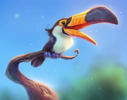 Happy Toucan by TehChan