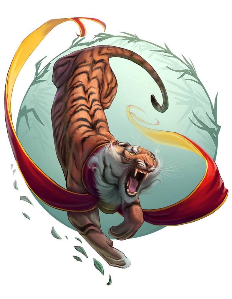 Tiger by TehChan