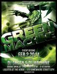 Green Machine PSD Template