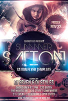 Sation Flyer Template by 7styles
