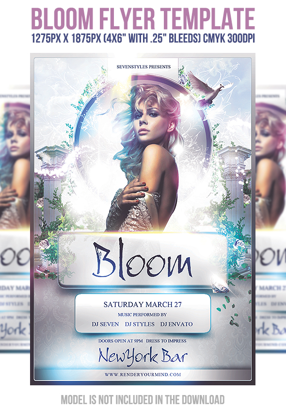 Bloom Flyer Template by 7styles on DeviantArt – Harmony Flyer Template