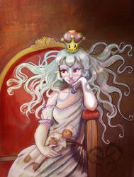 Boosette Holding a Doll