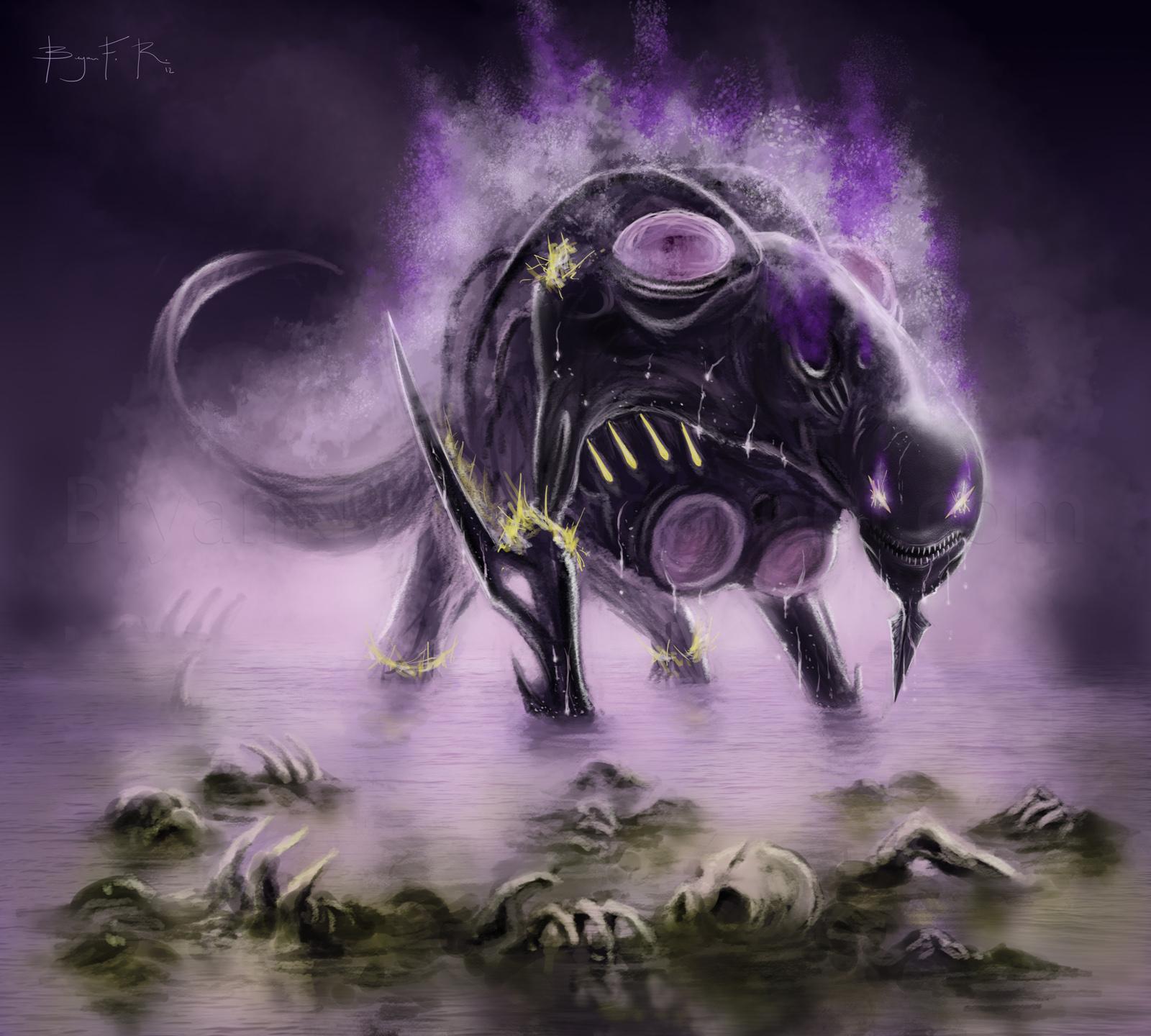 Yawgmoth's Will Fan Art by BryanFR