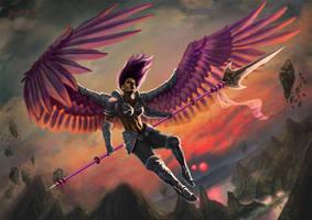 Aurora, Champion of the Dawn by BryanFR