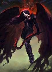 Vishera, Holy Avenger by BryanFR