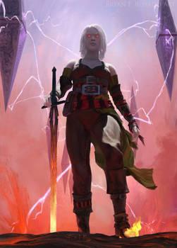 Nahiri - Magic: the Gathering Fan Art