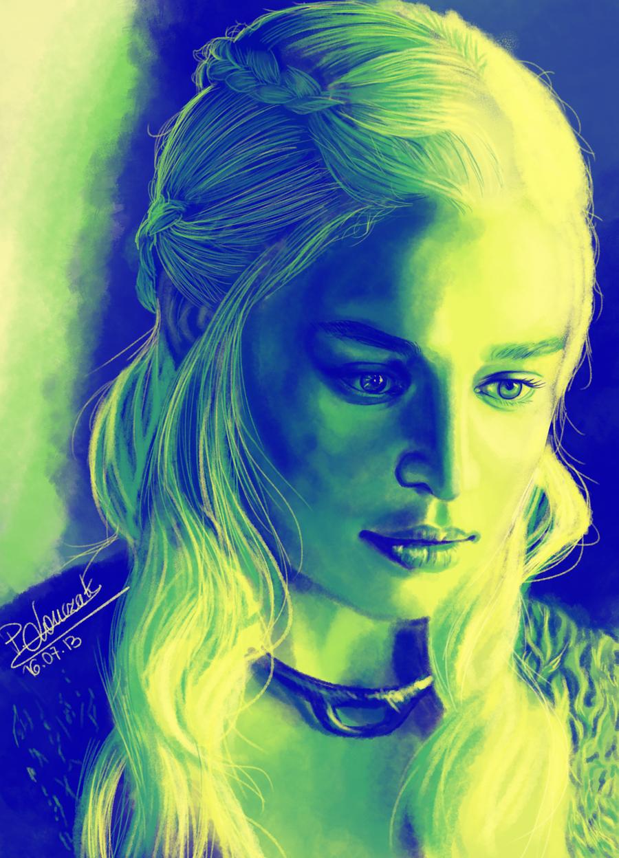 Daenerys Targaryen by KirieSempai