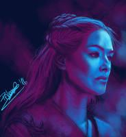 Cersei Lannister by KirieSempai