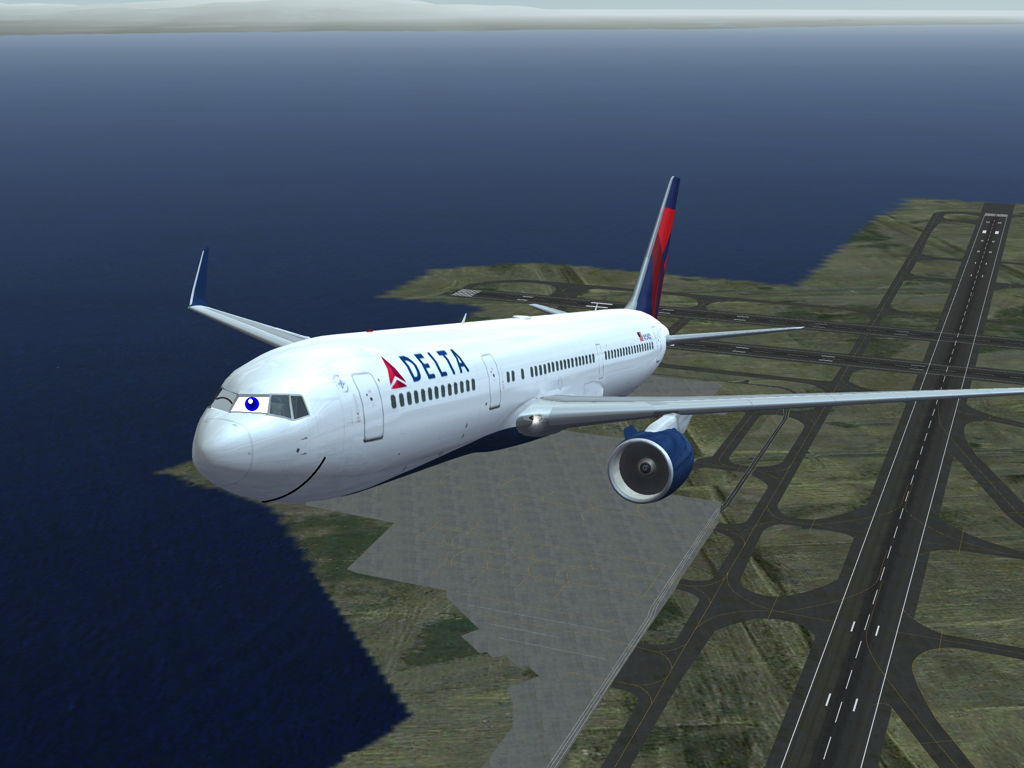 Living delta 767 in infinite flight by MacThePlaneh on DeviantArt