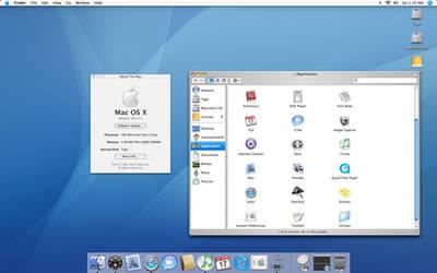 Tiger on Mid 2007 iMac