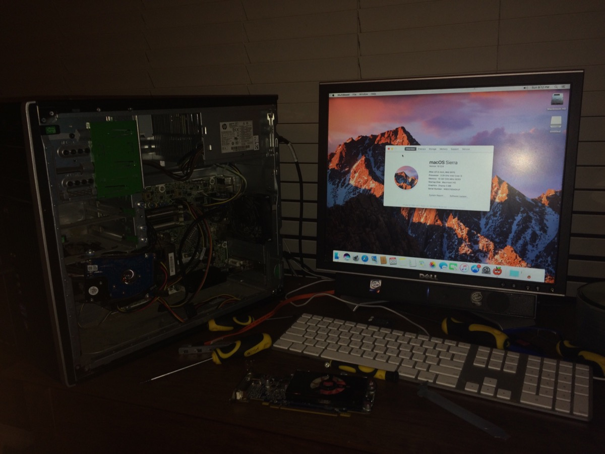 Hp 6200 Pro Hackintosh (work in progress) by MacThePlaneh on