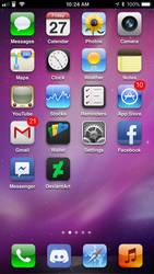 iOS 6 theme for iOS 11.3.1 (jailbroken)