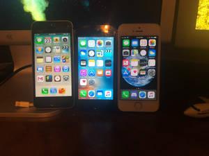 3 iPhone 5ses