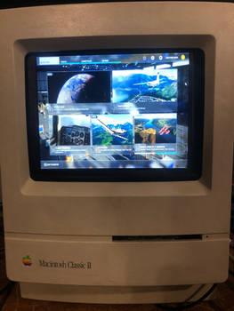 Microsoft flight simulator 2020 on a classic II