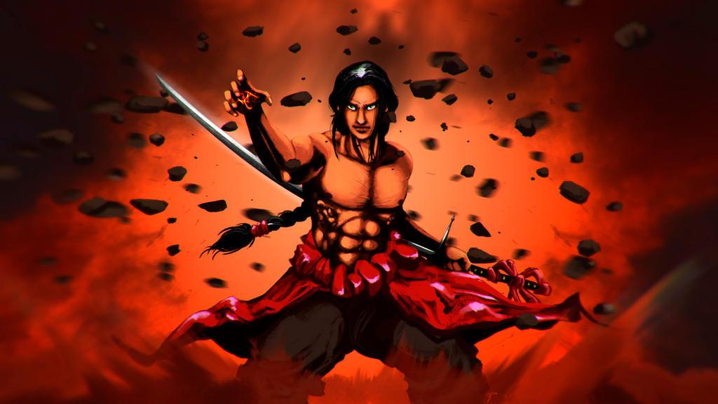 Tatzuo power ups! by evergard