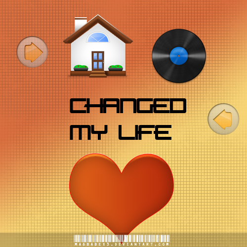 House music changed my life v2 by ma6babex3 on deviantart for House music art