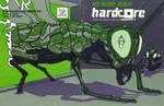 'HARDCORE' Computist #1 Cover by TADASHI-STATION