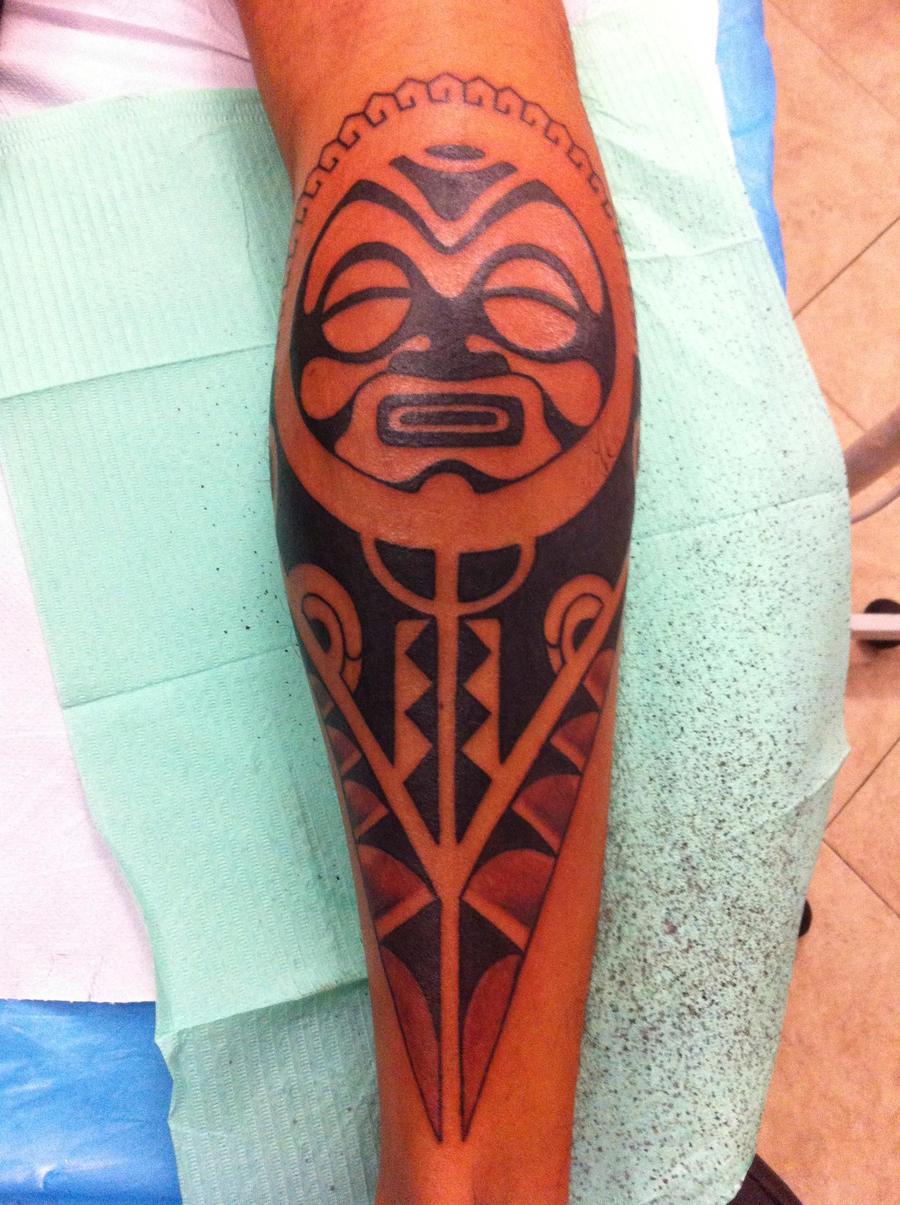Maori Hand Tattoo: Maori Polinesian Tattoo Free Hand By Marcotat2 On DeviantArt
