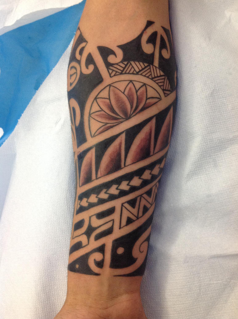 Small Maori Tattoo Finger: Maori Polinesian Tattoo Free Hand By Marcossangre On