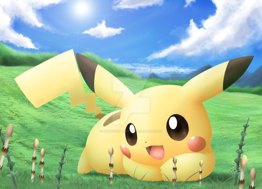 cute pikachu fondo de - photo #17