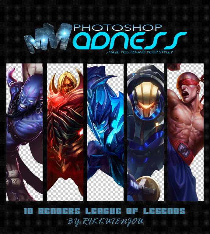 League of legends renders pack by krazekay on deviantart pack renders league of legends by tamyrt voltagebd Choice Image