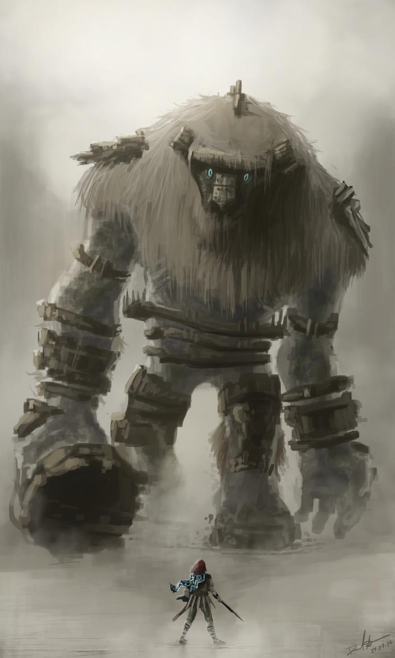 Colossus 1 - Valus by Daniel-Aubert on DeviantArt