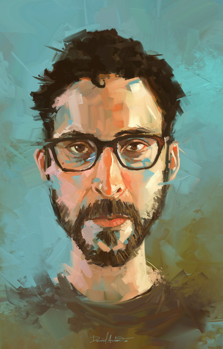 Selfie by Daniel-Aubert