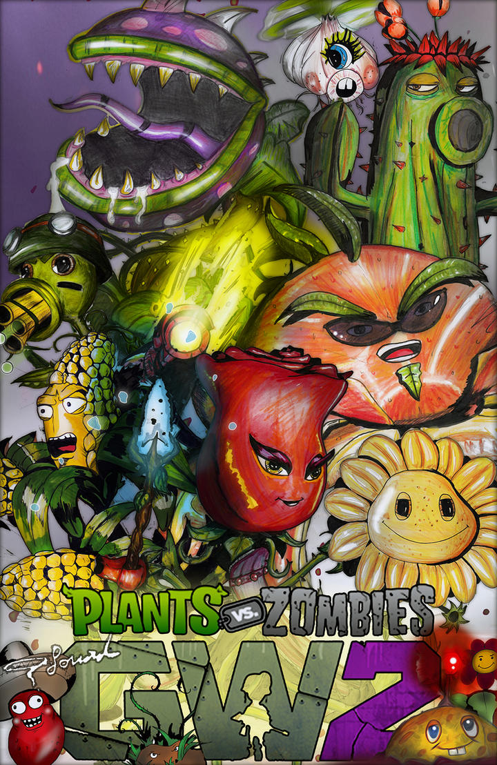Plants Vs Zombies Garden Warfare 2: (Plants Team) By Fouad Z ...