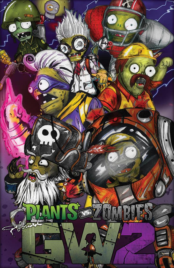 Plants Vs Zombies Garden Warfare 2: (Zombies Team) By Fouad Z ...