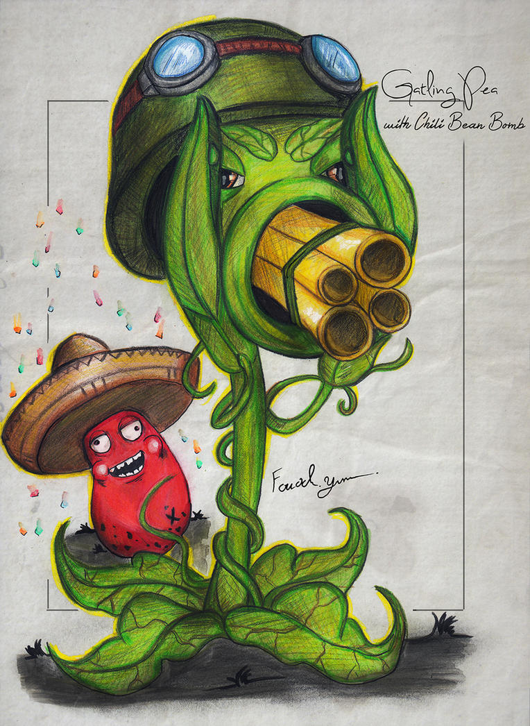 Gatling Pea [with Chili Bean Bomb] by Fouad-z