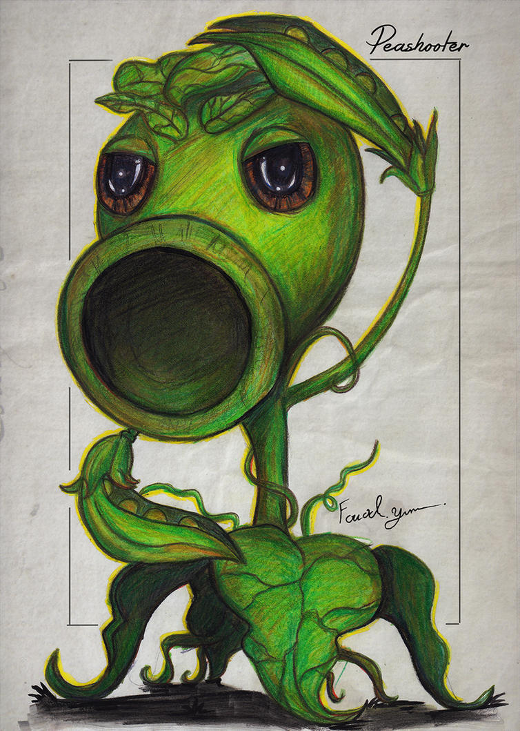 Peashooter by Fouad-z