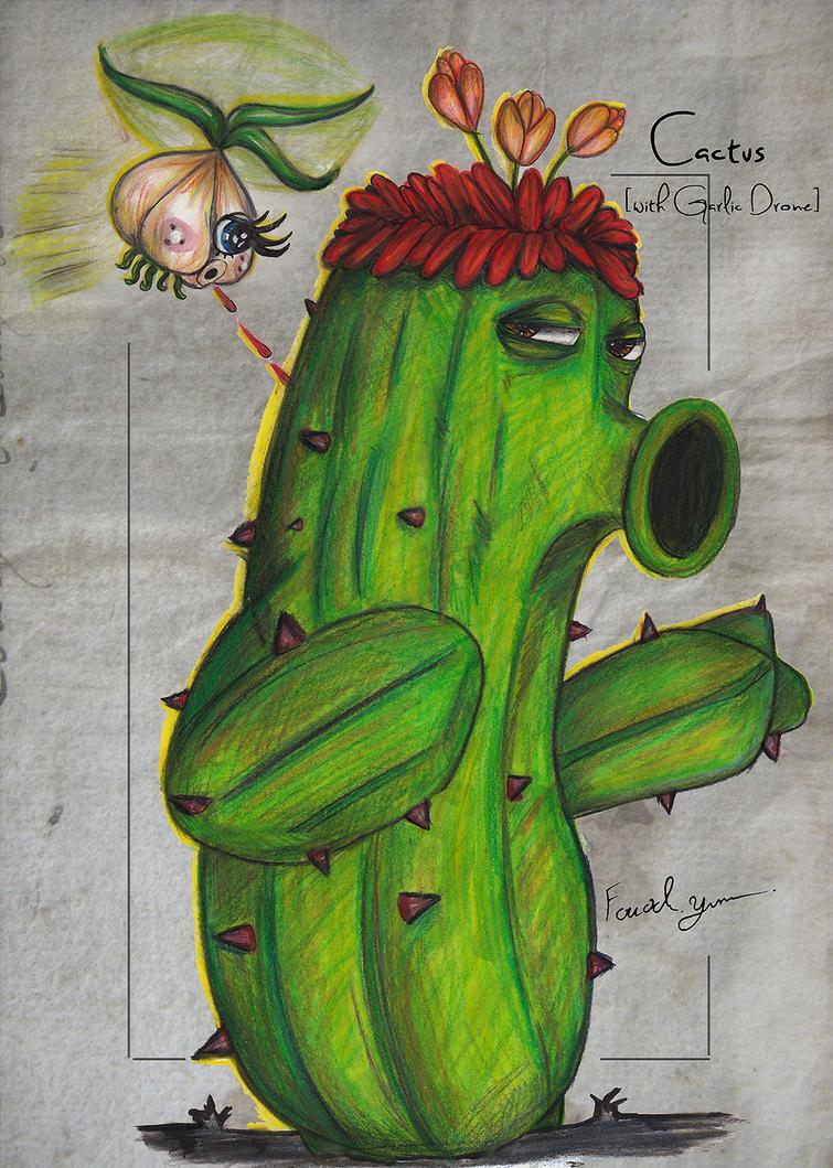 Cactus [with Garlic Drone] by Fouad-z