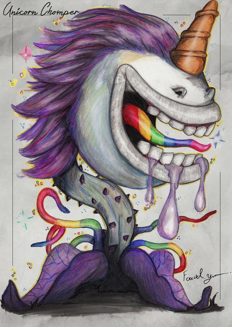 Unicorn Chomper by Fouad-z
