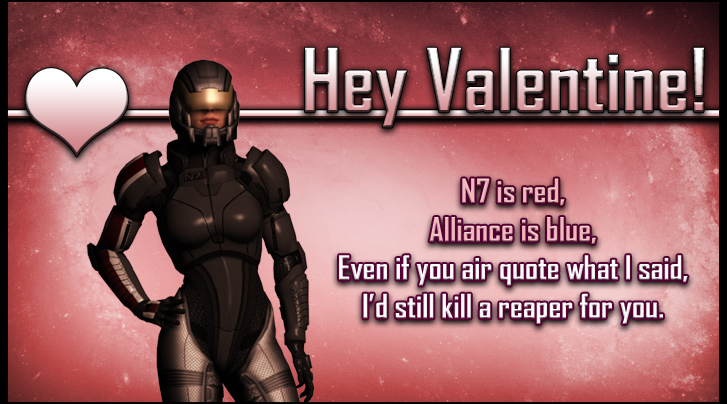 ME Valentine Shepard, II by Lordess-Alicia