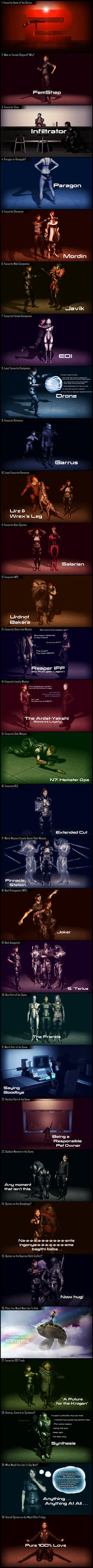 30 Day Mass Effect Challenge by Lordess-Alicia