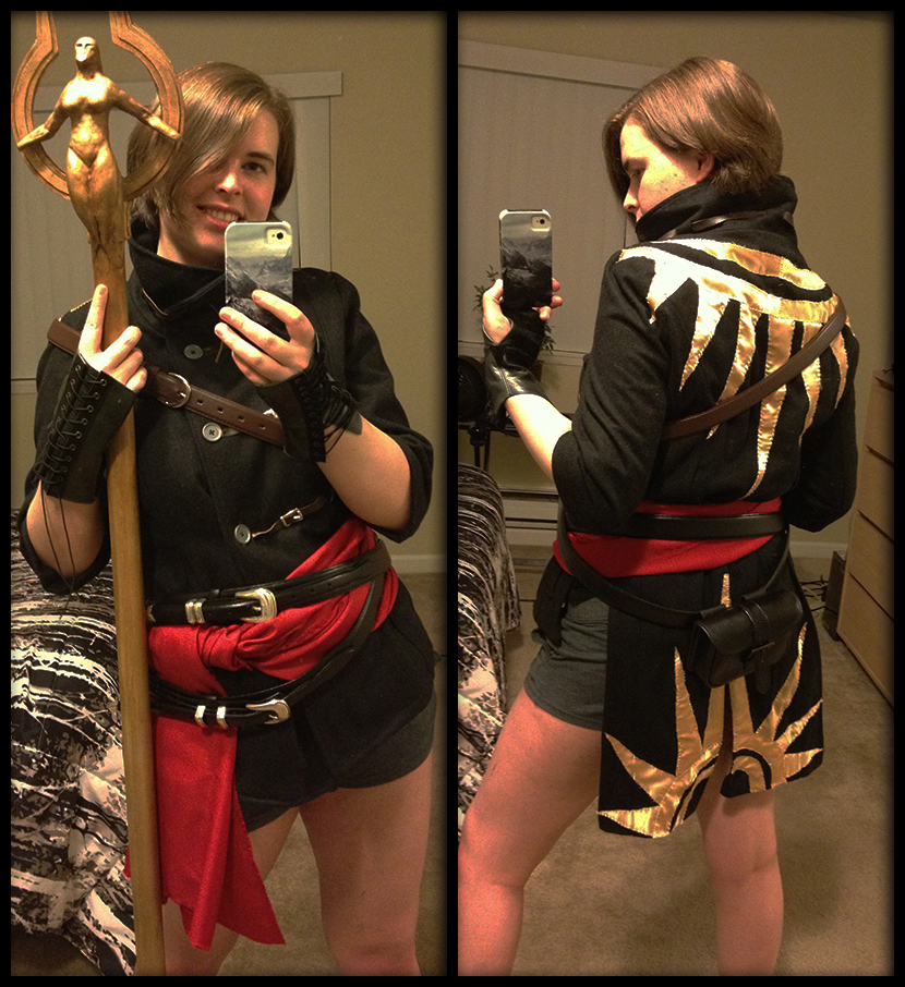 Fugitive's Mantle Cosplay Robe by Lordess-Alicia
