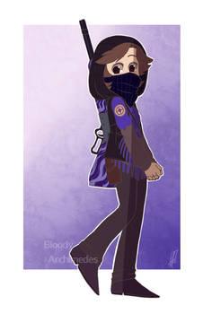 TF2 - OC Commission: Purple Dust -