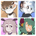 Icon commission pack number 182
