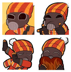 Icon commission pack number 185 -Pyro pack!-
