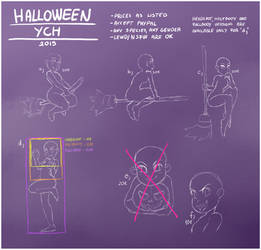HALLOWEEN YCH 2019 (until end of october)