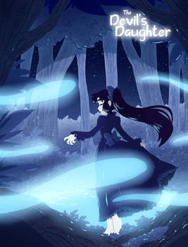 The Devil's Daughter - Blue -